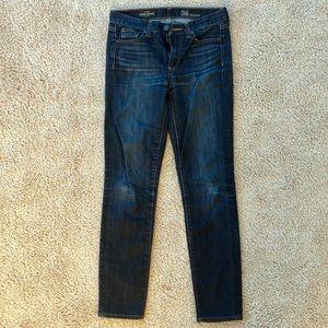 Jcrew Midrise Toothpick Jeans